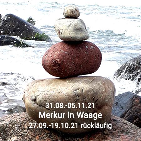 Merkur in Waage 2021